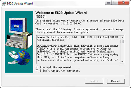 Firmware update instructions.